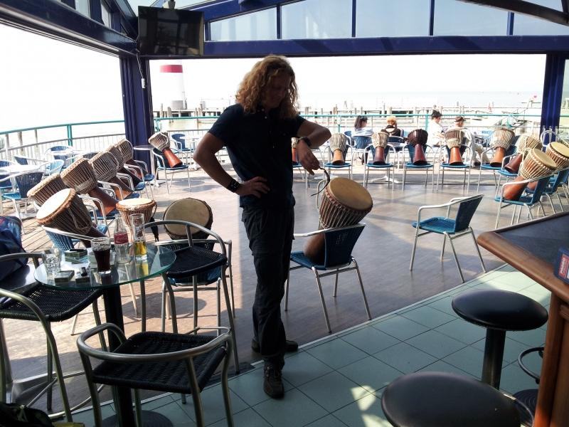 Drummotion Trommelworkshop mit Erwachsene in Podersdorf