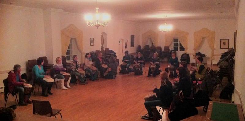 Drummotion Trommelworkshop mit Erwachsene