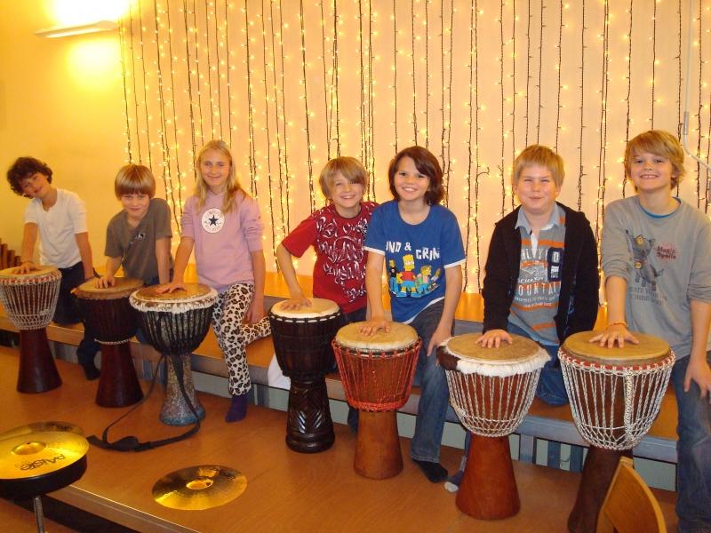 Trommelworkshop mit Kinder