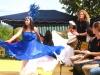 Drummotion & Powerangels live mit Betty de la Cruz Tanzschule beim Riedenfest Kritzendorf