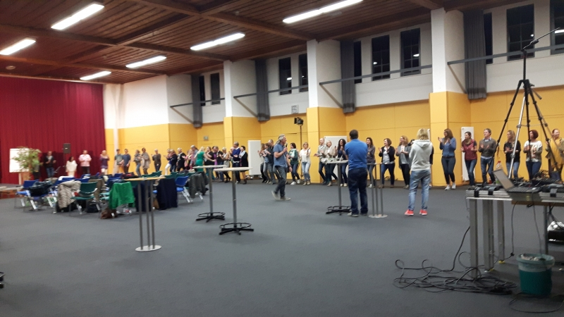 Drummotion Trommelworkshop in München bei Pierre Frankh Seminar