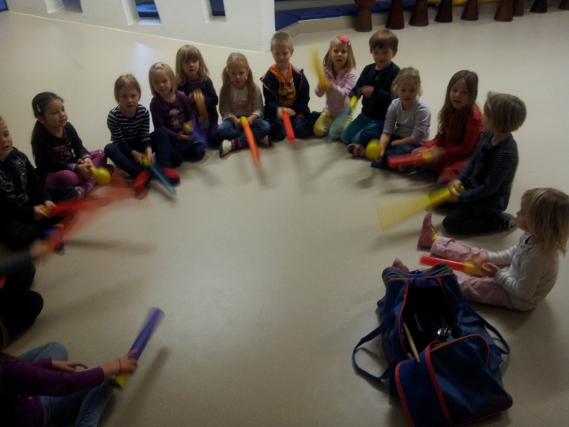 Drummotion Trommelworkshop mit Kinder