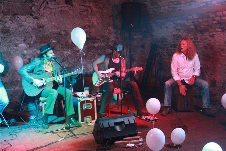 Werner Haller live mit Edi Fenzl und Jörg Danielsen