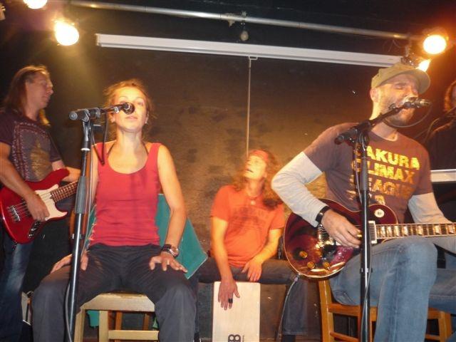 Werner Haller live mit Jedleseer beim Bamkraxler