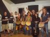 Werner Haller  Drummotion & Powerangels mit Waves on Fire