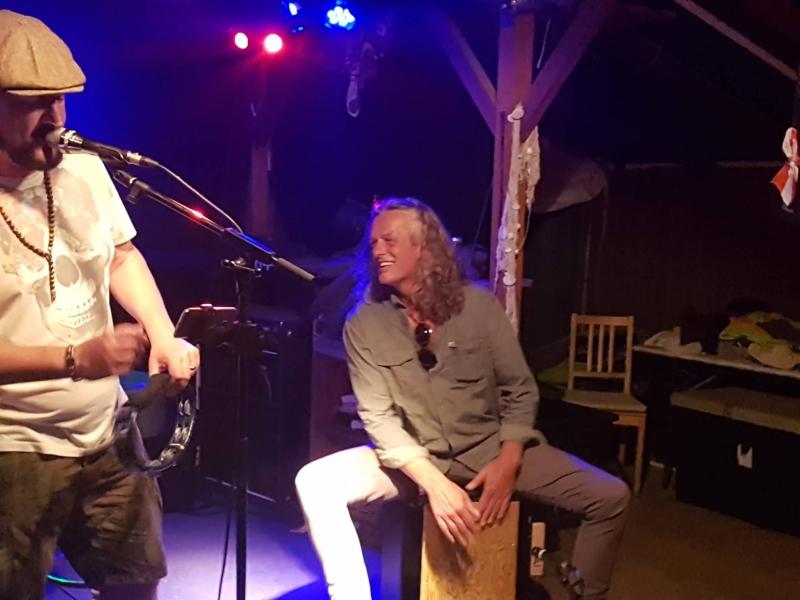 Live mit Carl Avory & Bernd Krinner beim Friedel Gastro