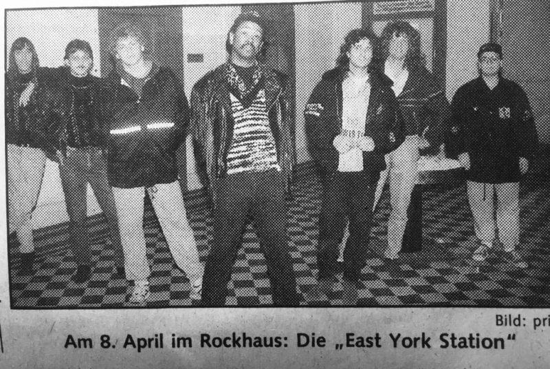 East York Station,Eddie Cole, Edi Mayr, Werner Haller