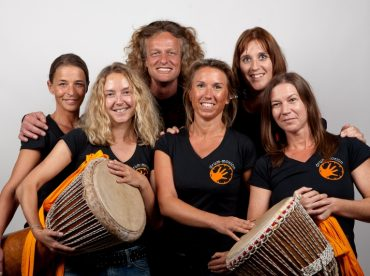 Werner Haller, Drummotion feat. Powerangels