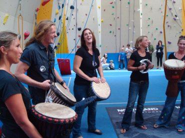Drummotion feat.Powerangels,Kletterhalle Wien
