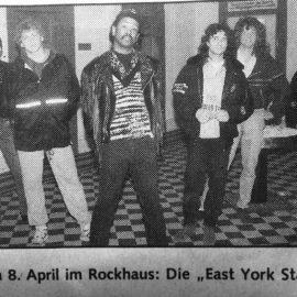 Werner Haller, Edgar Mayr,Eddie Cole,East York Station,Wuk